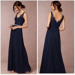 BHLDN Navy Bridesmaids Dress